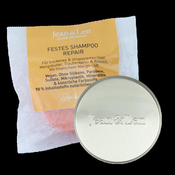 Festes Shampoo Repair + Aluminiumdose groß