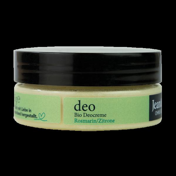 Organic Deodorant Cream Rosemary/Lemon, 85 g