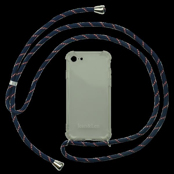 Handykette blau/rot/weiß iPhone 7/8