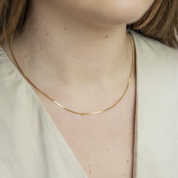 Millie Kette - 925 Silber vergoldet