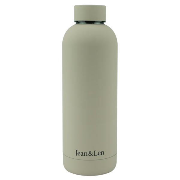Trinkflasche taupe 500ml