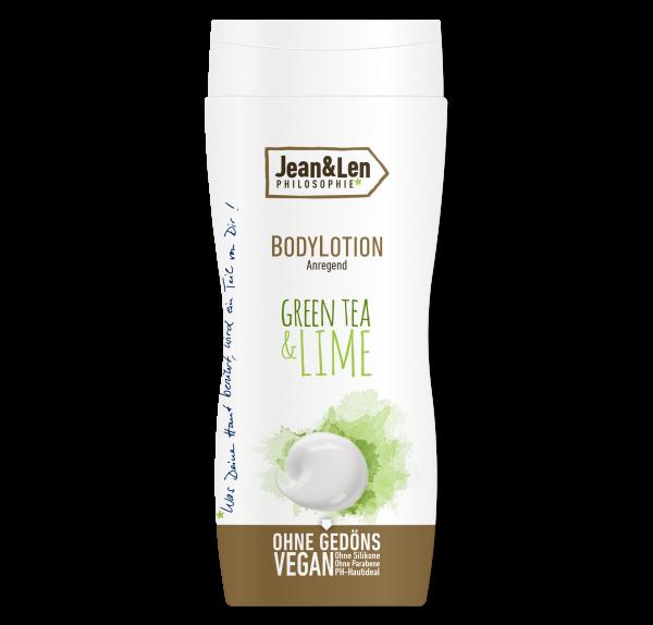 Bodylotion anregend Green Tea & Lime