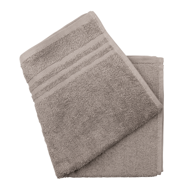 Handtuch 50x100 taupe