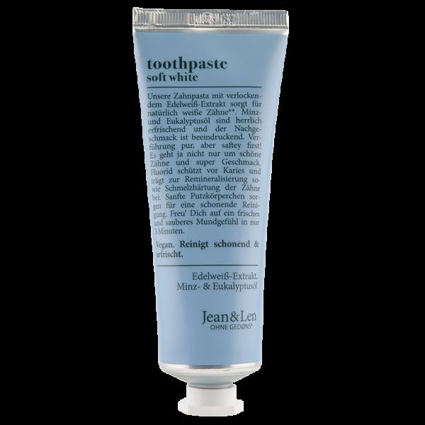 Toothpaste Soft White, 75 ml