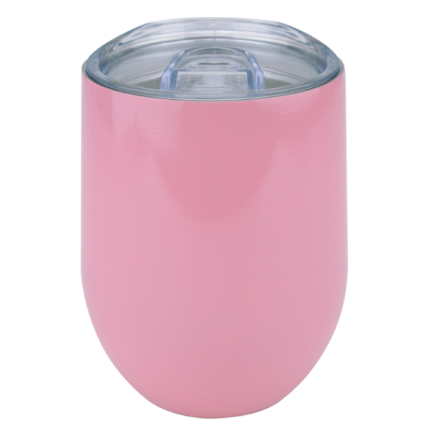 To-Go-Becher rosa, 355ml