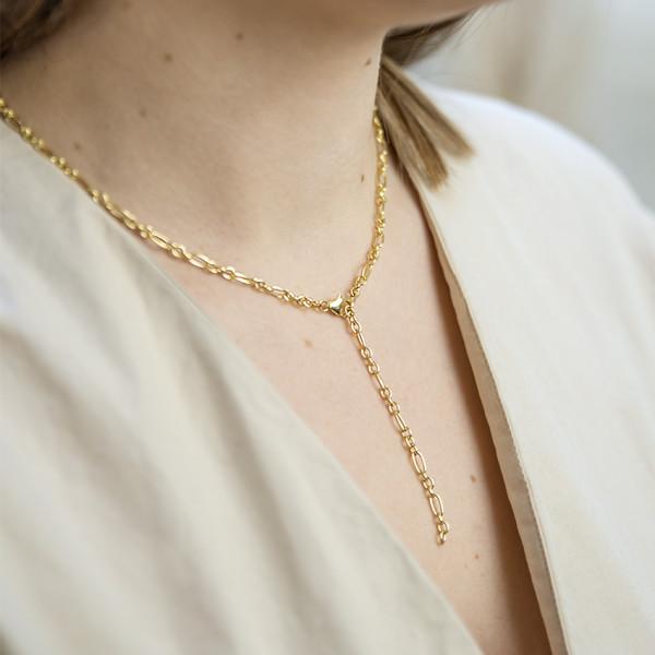 Liv Kette - 925 Silber vergoldet