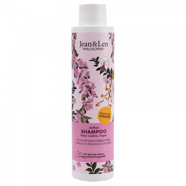 Aufbau Shampoo Pflanzliches Keratin, 300 ml