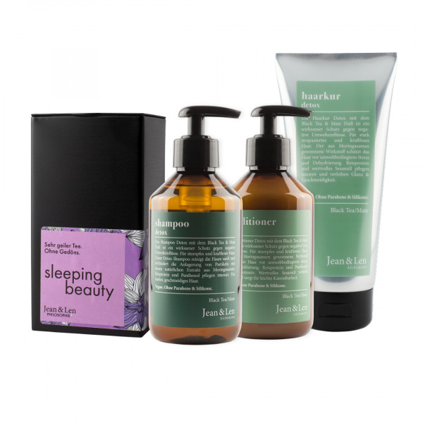 Detox Haarpflege & Sleeping Beauty