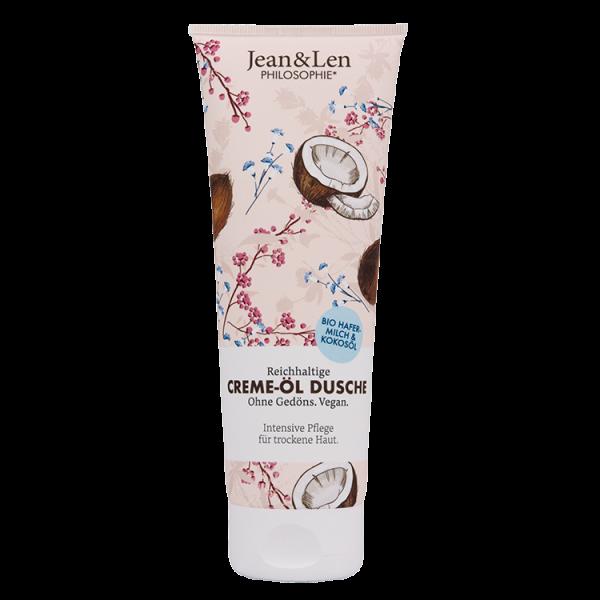 Creme-Öl Dusche Intensiv Bio-Hafermilch & Kokosöl