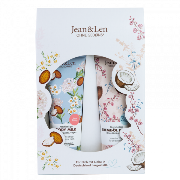 Körperpflege Geschenkset für trockene Haut, 500 ml