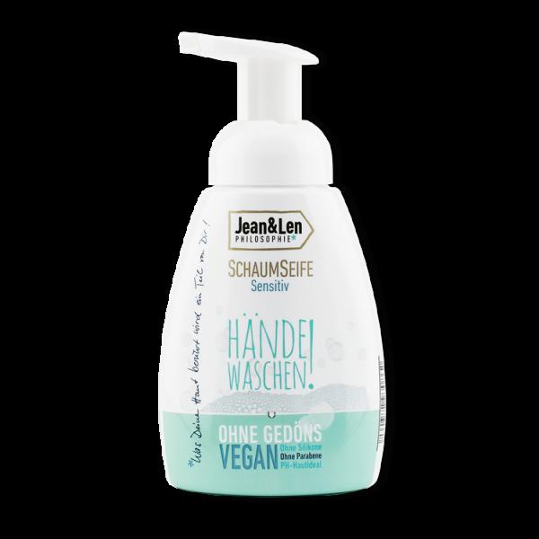 Schaumseife Hände waschen!