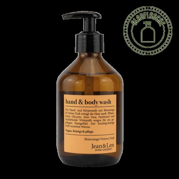 Hand & Body Wash Blutorange/Vetiver, 300ml