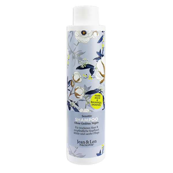 Shampoo Sensitiv Hafermilch & Baumwollsamenöl