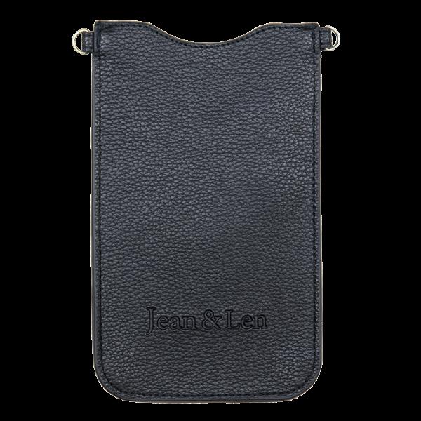 Vegane iPhone Tasche schwarz, ohne Riemen