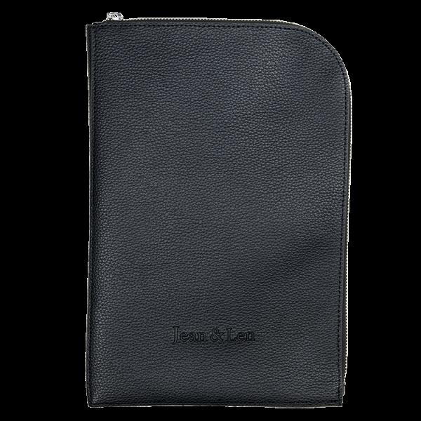 Vegane iPad Hülle schwarz
