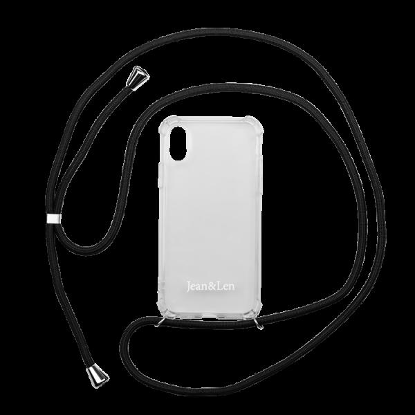 Handykette schwarz iPhone X