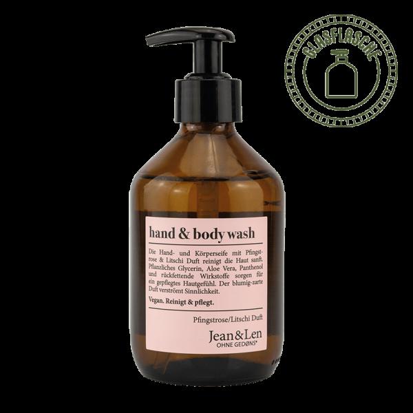 Hand & Body Wash Pfingstrose/Litschi, 300ml