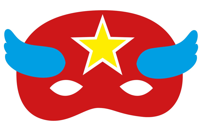 Superheldenmaske