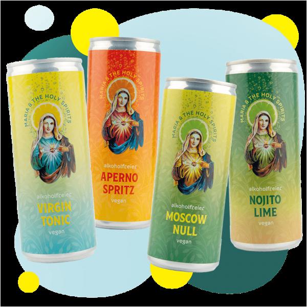 "MARIA&THE HOLY SPIRITS ""Probierset"""