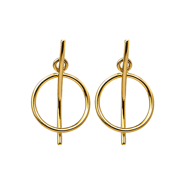 Smilla Ohrring - 925 Silber vergoldet
