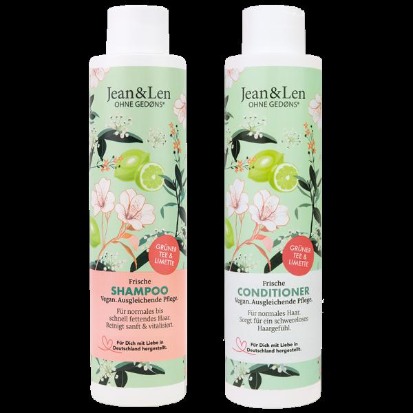 Frische Haarpflegeset Grüner Tee/Limette