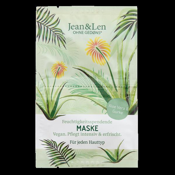 Moisturising Mask Aloe Vera/Cucumber, 2 x 5 ml