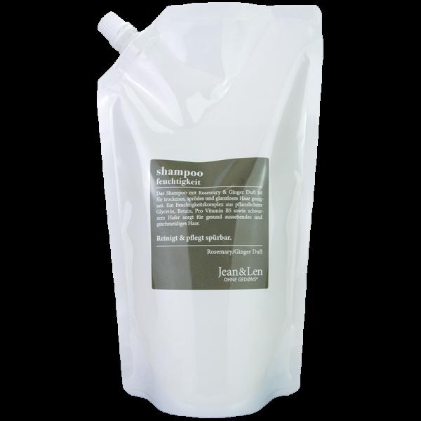 Nachfüllpack Rosemary/Ginger Shampoo Feuchtigkeit, 0,9 L