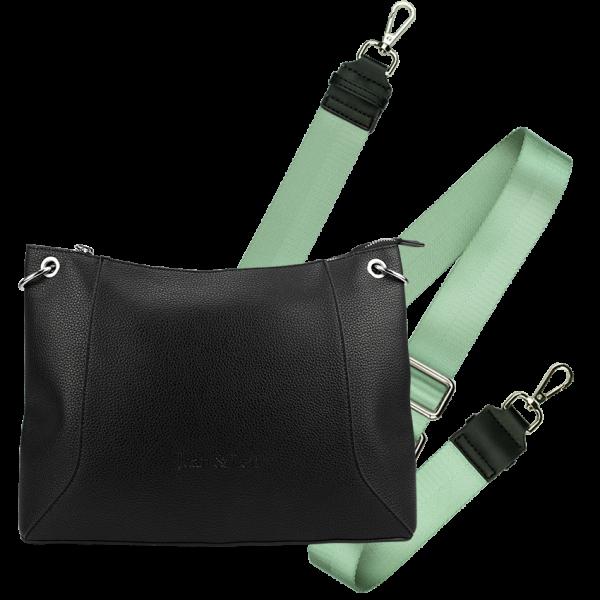 Handbag Mailand + Schulterriemen Mint