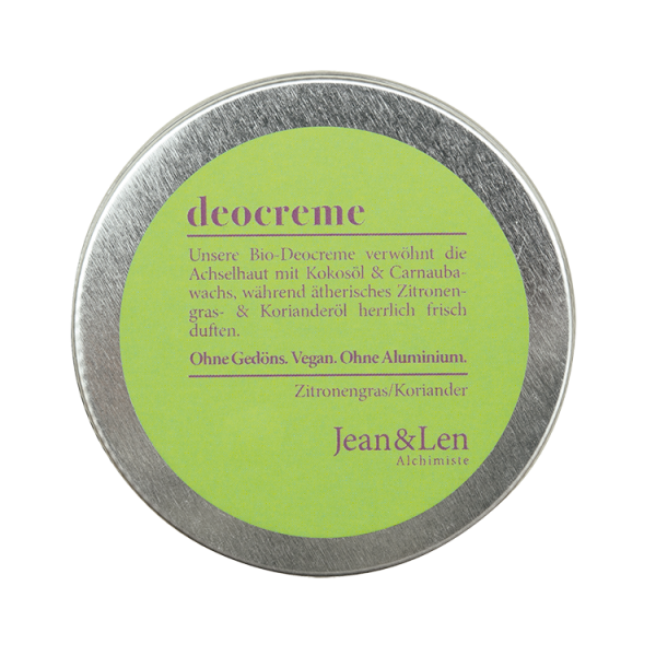 Bio-Deocreme Zitronengras/Koriander