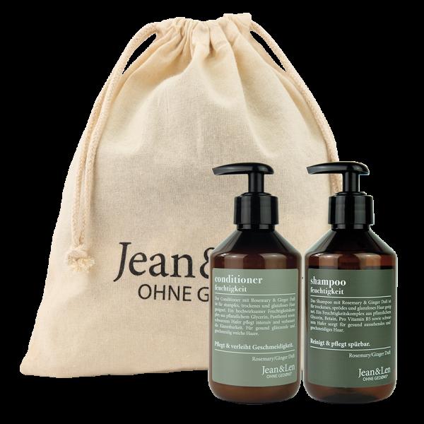 Hair Care Set Rosemary/Ginger Shampoo + Conditioner, 600 ml
