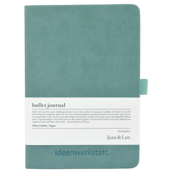 Notebook Stone Paper Mint