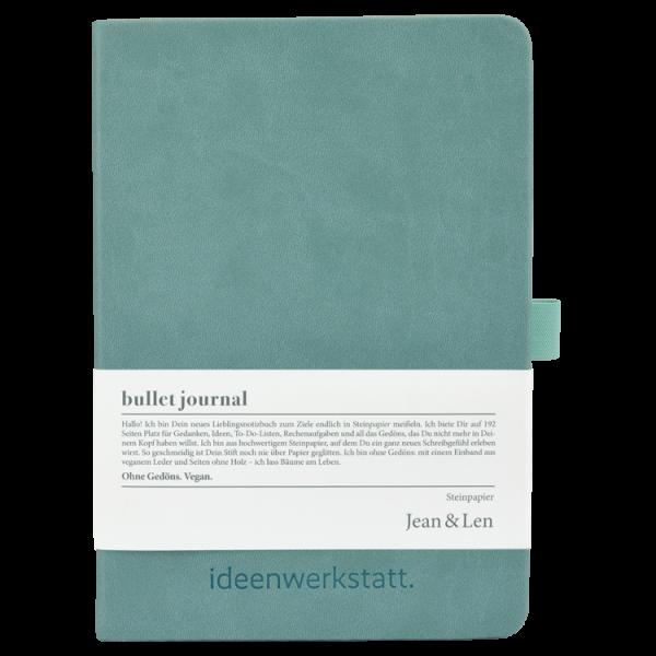 Notizbuch Steinpapier mint