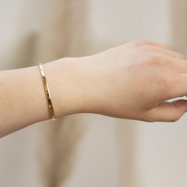Mathilda Armreif - 925 Silber vergoldet