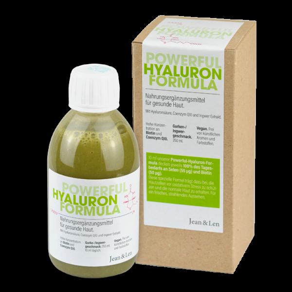 Powerful Hyaluron Formula Nahrungsergänzung