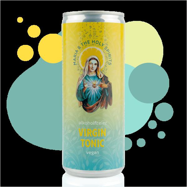 MARIA&THE HOLY SPIRITS VirGIN & Tonic, Dose 250ml