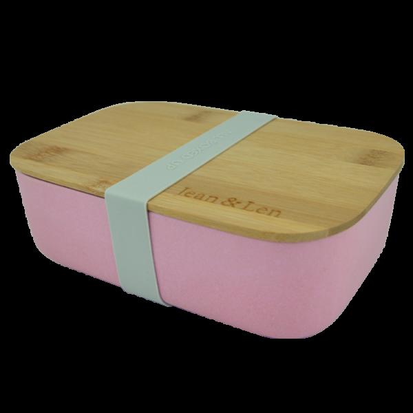 Brotdose rosa